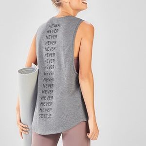 Fabletics Tops - BRAND NEW!! Never settle tank